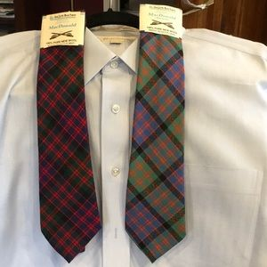 Other - Clan MacDonald set of 2 ties new from Scotland